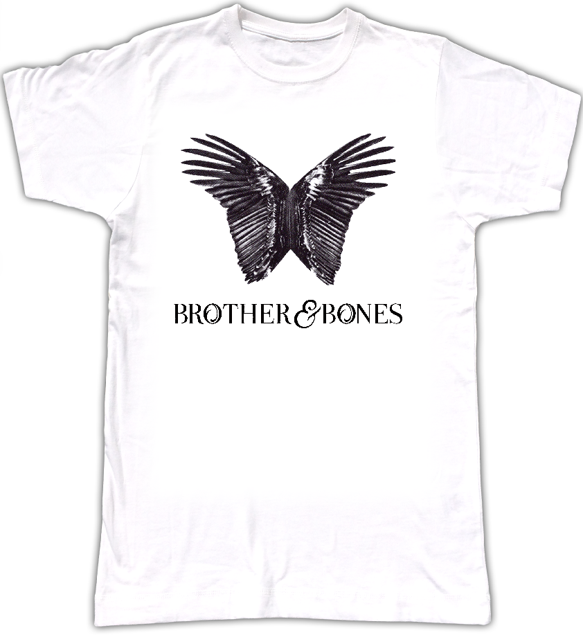 Mens 'Wings' Art T-Shirt - WHITE