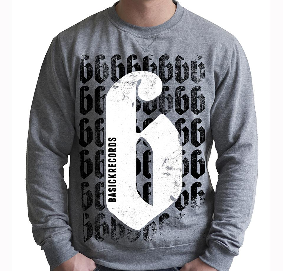 Basick 'B' Crew Neck Jumper