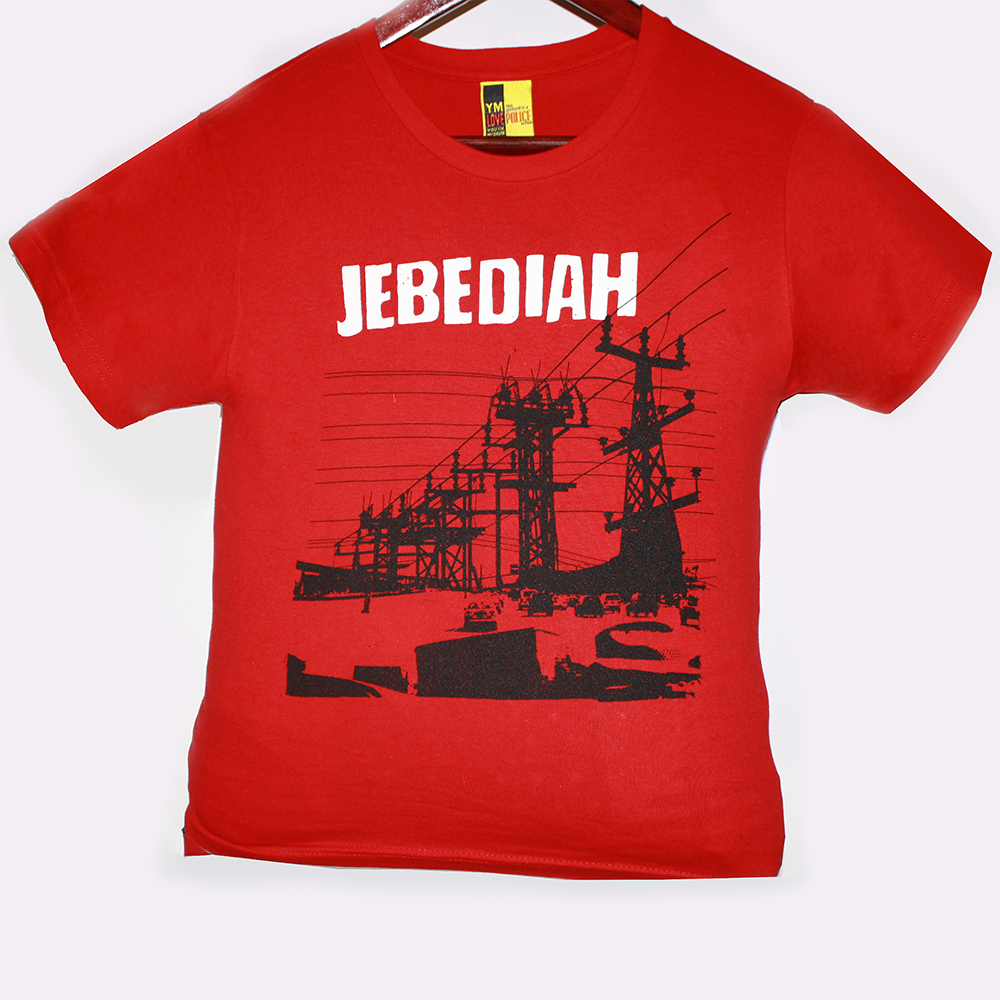 Power Lines - Red T-Shirt (Youth Sizes)