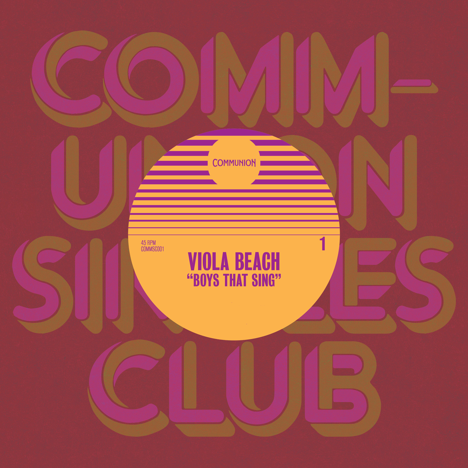 Communion Singles Club No. 1 - Viola Beach