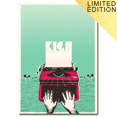 SMART CASUAL SCREEN PRINT SIGNED +TICKET