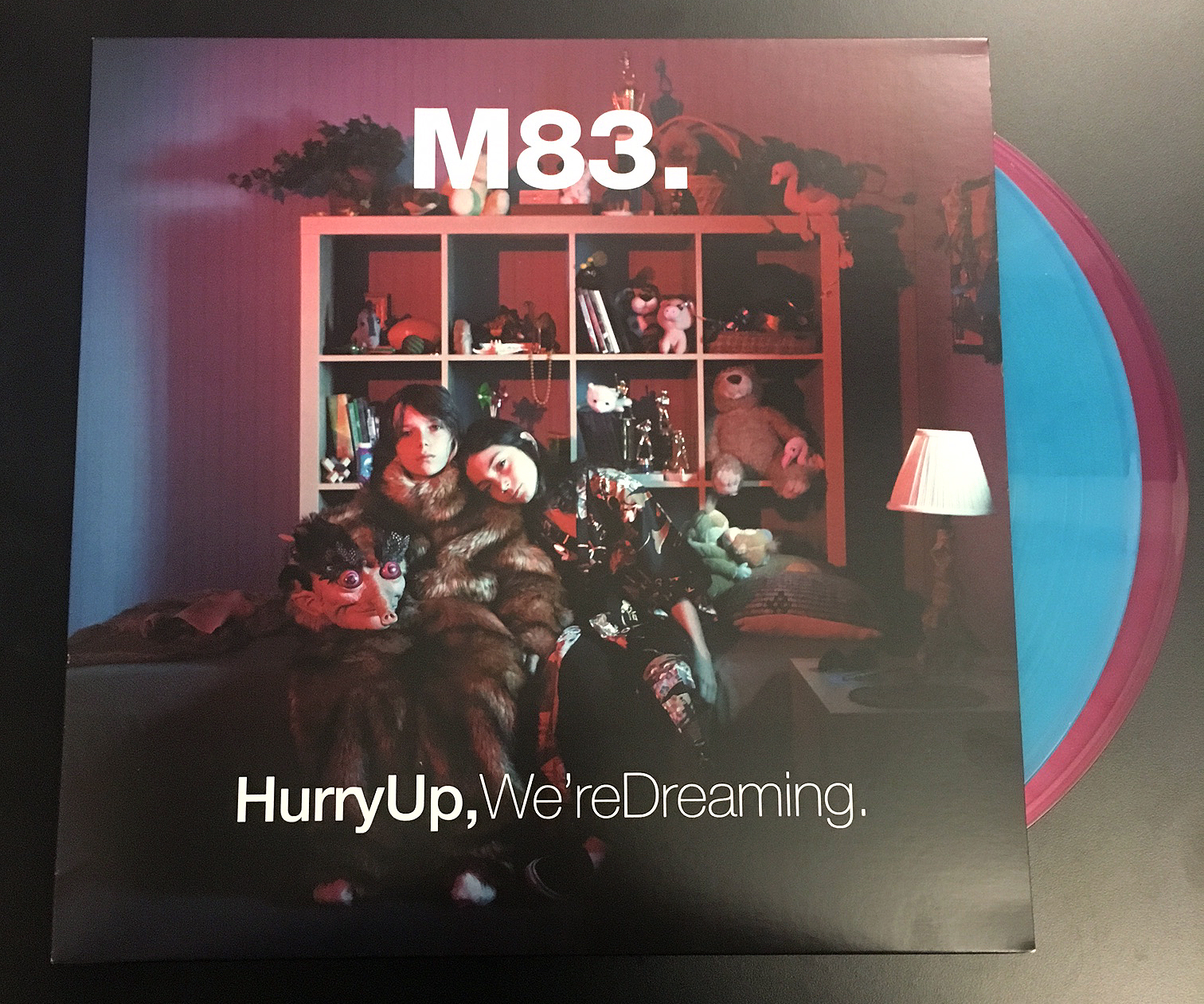 M83 - Hurry Up We're Dreaming Colored Vinyl