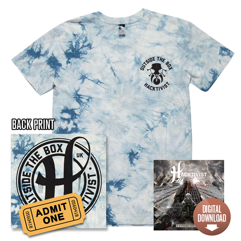 Outside The Box Digital Download + exclusive Tie-Dye T-Shirt + Tour Ticket
