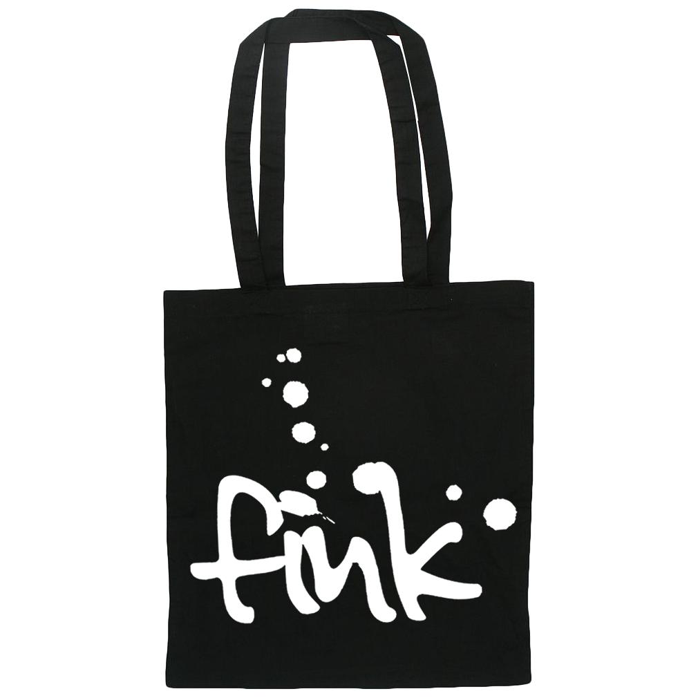 Fink Splatter Logo Tote Bag