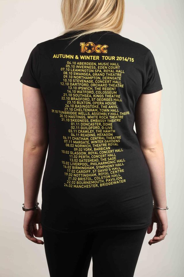 LADIES 2015 UK Tour T-Shirt