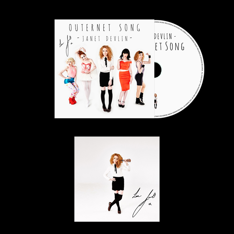 Outernet Song - Physical (Signed) CD & Art Card