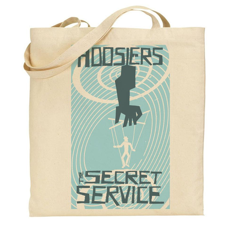 Secret Service Tote, Wristband, Badges
