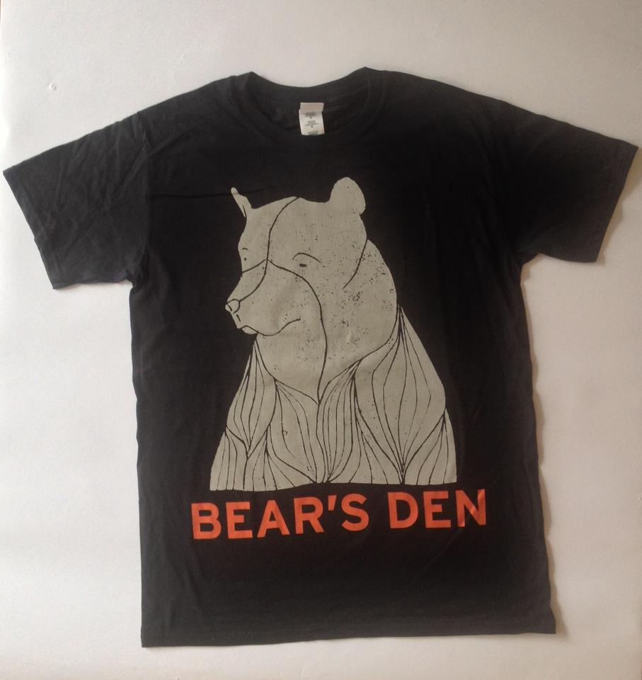 Bear Tee Shirt - Black