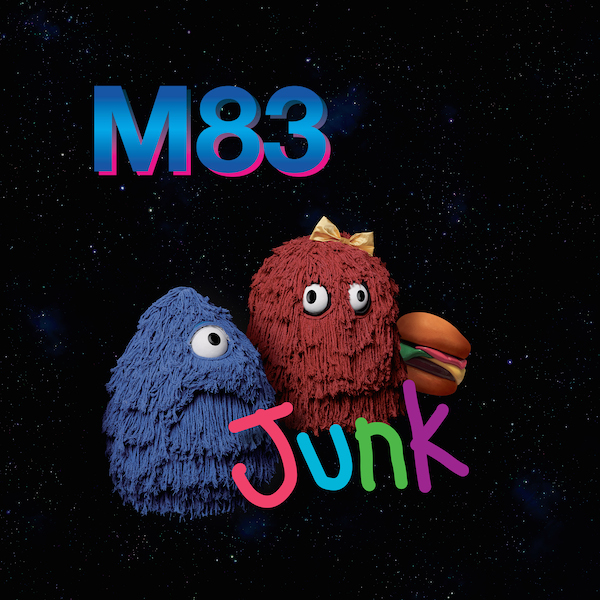 "M83 - Junk LP + Go! 12"" Bundle"