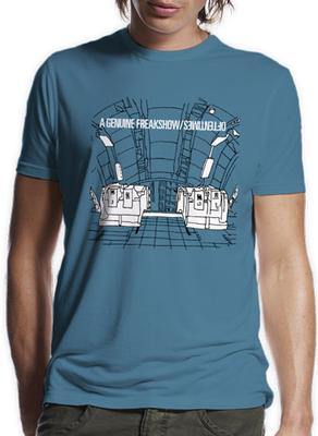 Oftentimes Escalators Aqua T-Shirt