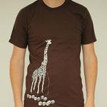 Mens Giraffe T-Shirt