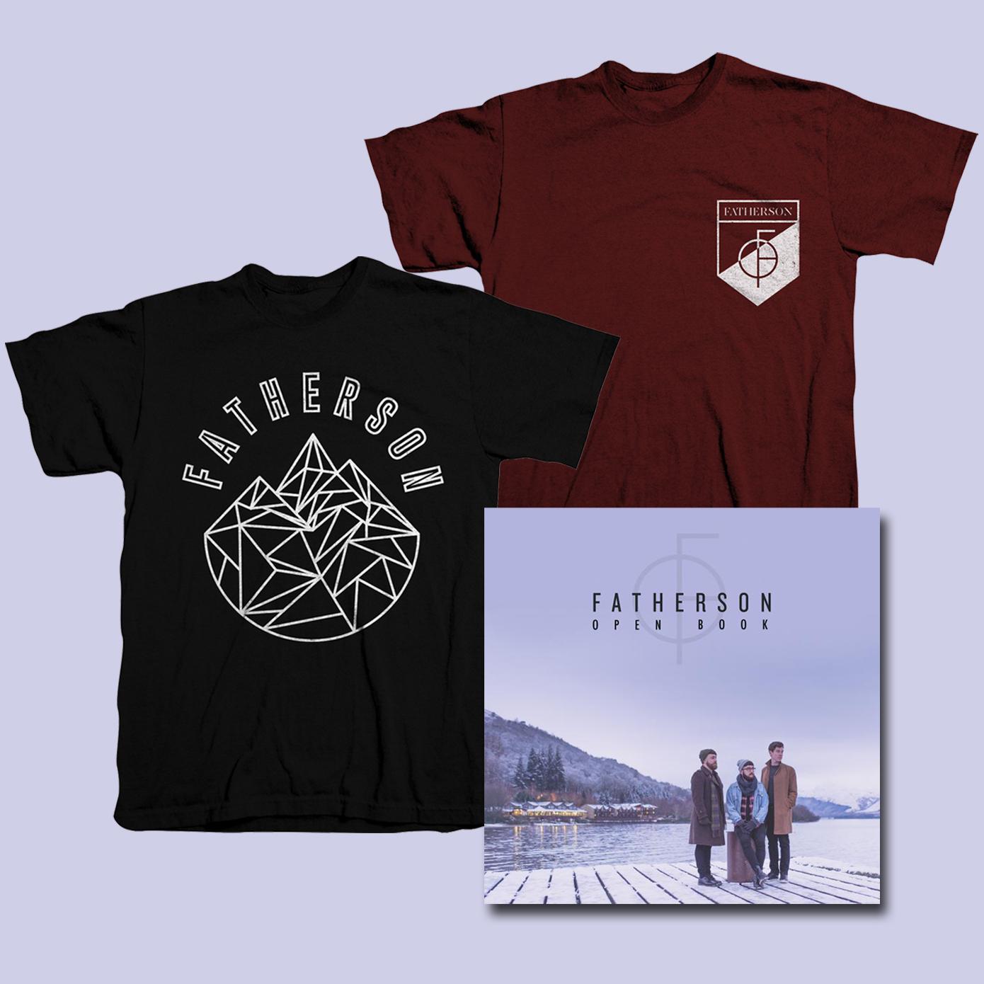 'Open Book' Album & T-Shirt Bundle