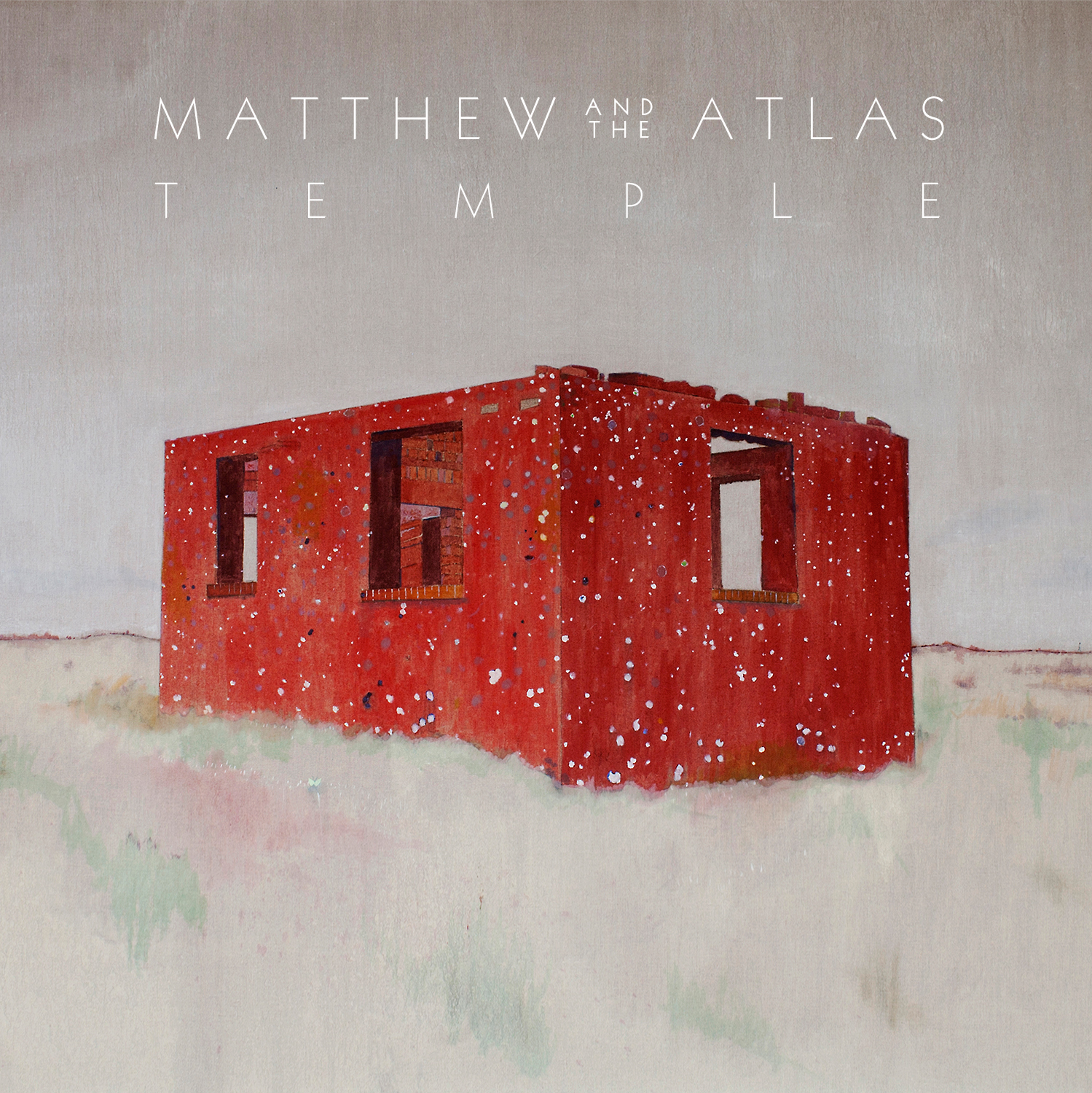 Matthew and the Atlas - Temple CD