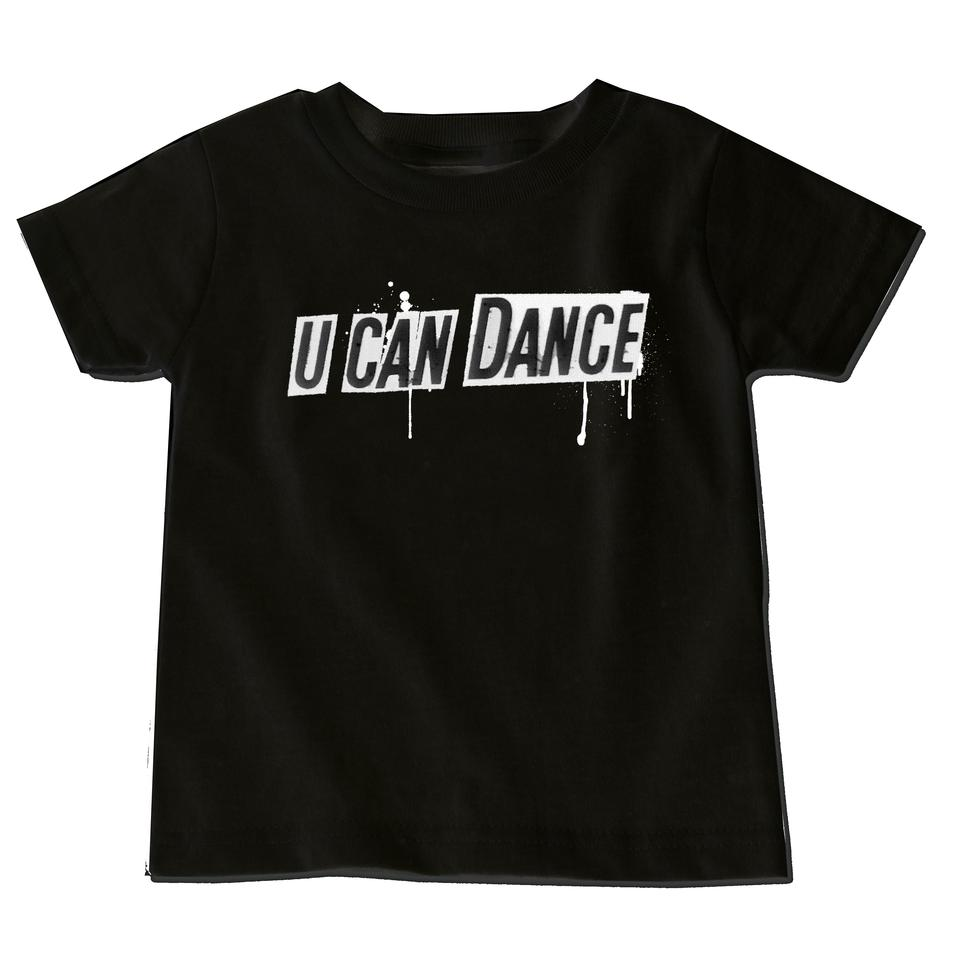 U Can Dance Text T-Shirt