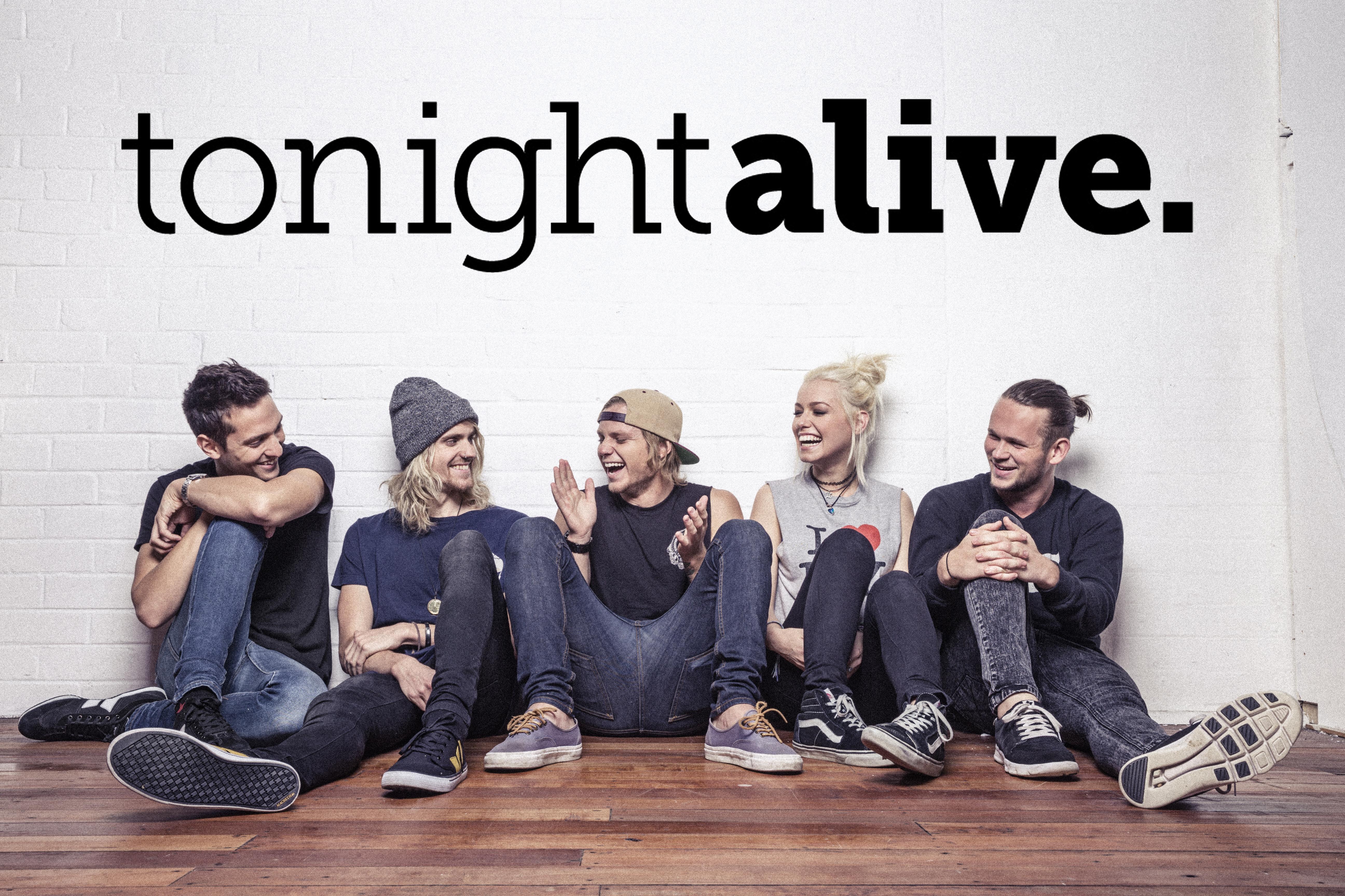 Tonight Alive On Music Glue