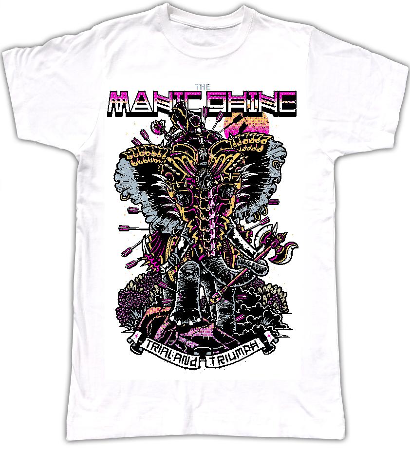 War Elephant T Shirt *Pink Special*