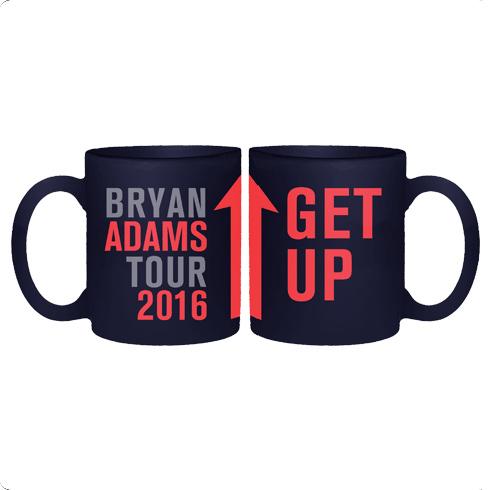 Get Up - Navy Mug