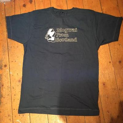 Mogwai From Scotland Navy Tshirt