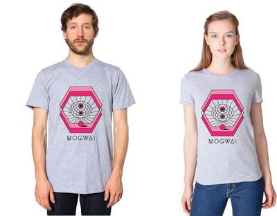 Mogwai Rave Tapes grey tshirt