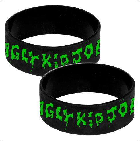 Green Logo - Silicone Wristband
