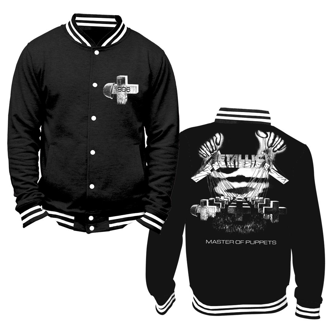 MOP Distressed – Black College Jacket