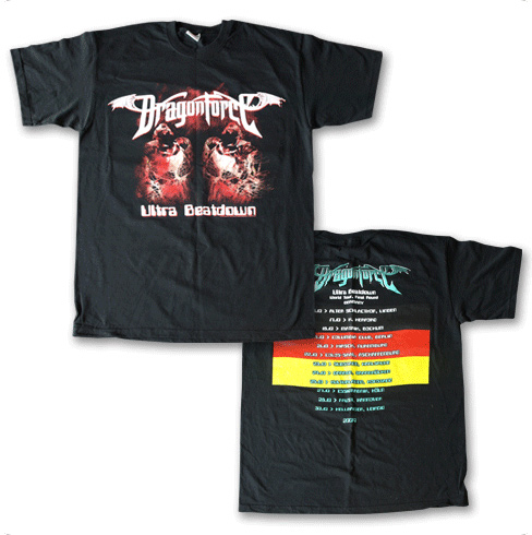 Ultra Beatdown Tour (Black German Tee)