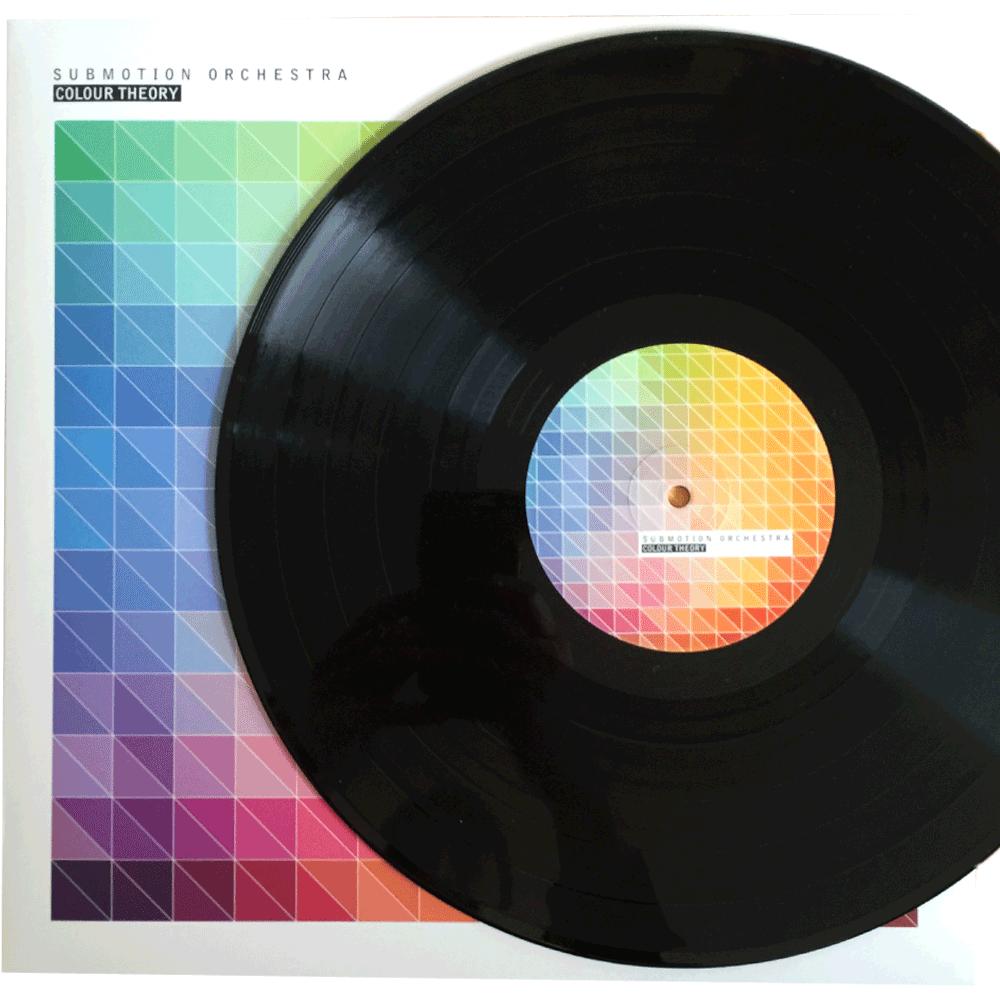 "Colour Theory - 12"" Vinyl Album (Black Disc)"
