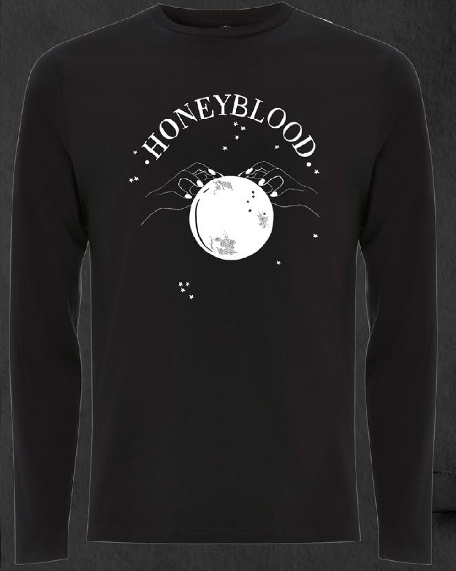 'Ready For The Magic' Longsleeve T-shirt (Black)