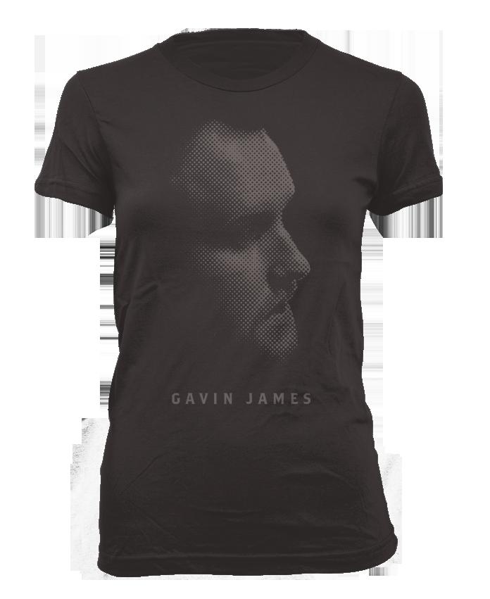 Gavin James Black T Shirt (Female)