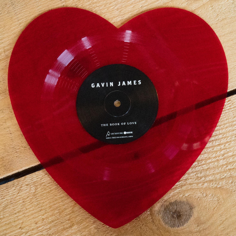 "Gavin James - Heart Shaped  7"" Vinyl"