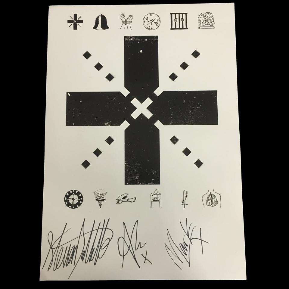 Shapes Of Screams Poster A3 (Signed)