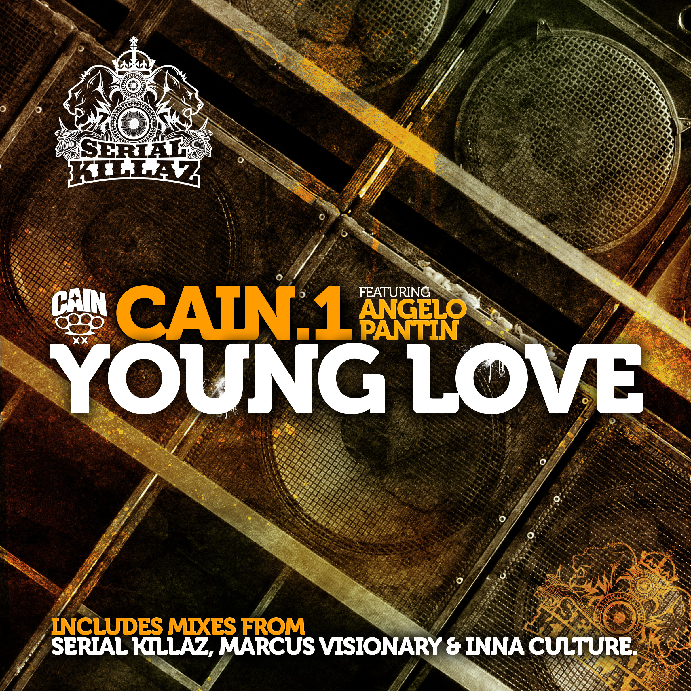 Cain.1 Featuring Angelo Pantin - Young Love EP