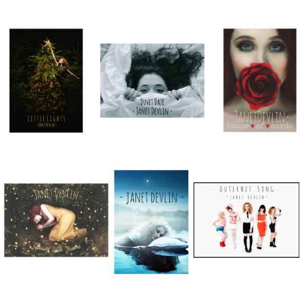 New Janet Devlin Poster Bundle