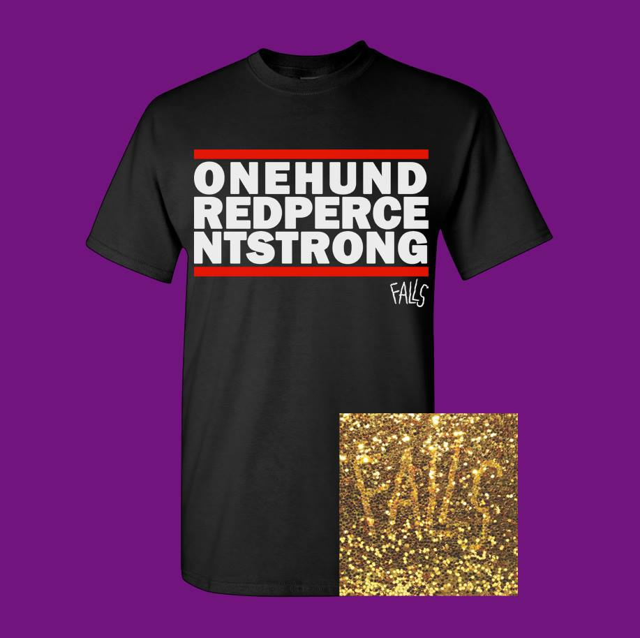 "ONE HUNDRED PERCENT STRONG 7"" & TEE BUNDLE - PRE ORDER"