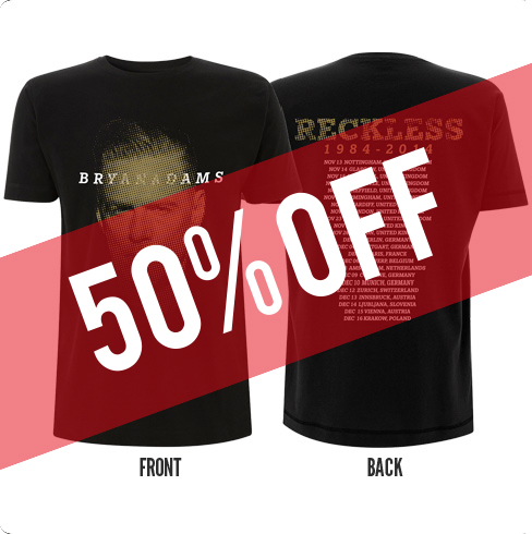 Toned Europe 2014 - Black Tee - 50% Off!