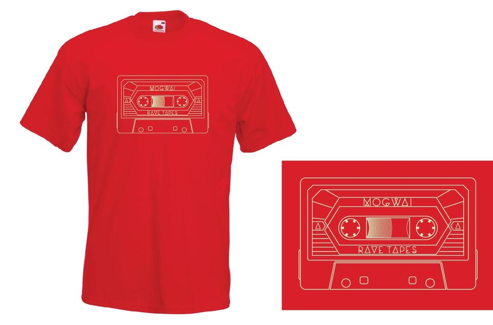 Mogwai Cassette Tshirt in Red