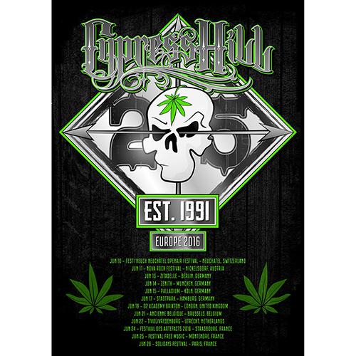 25th Anniversary Tour – A2 Print (250g art board)